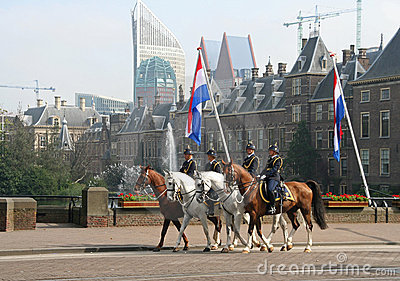Prinsjesdag Cavalry Editorial Stock Image