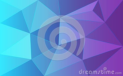 Background abstract of polygonal triangle Vector Illustration
