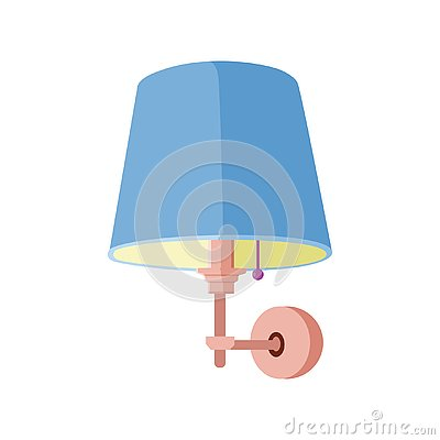 Wall Lamp Interior Vector Illustration Vector Illustration