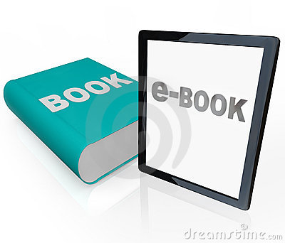 Print Book and e-Book - Old vs New Media