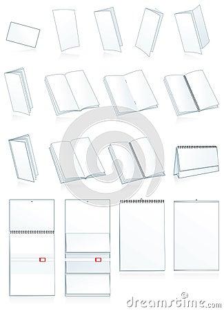 Print-press paper production. Leaflets, booklets