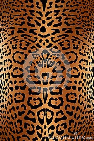Print skin of  leopard