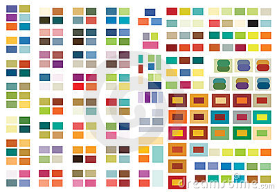 Print or web color combinations stock image image Best two color combinations