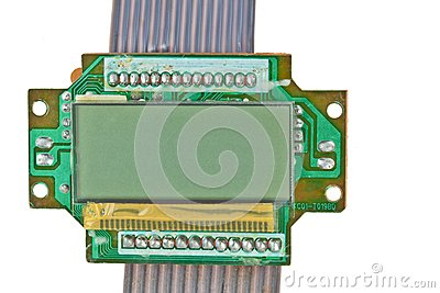 The printed-circuit board, electronic components
