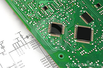 Printed circuit board and electronic scheme