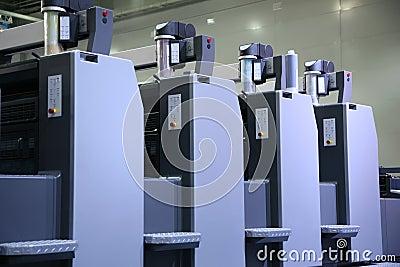 Printed equipment