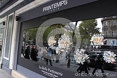 Printemps stores Editorial Photo