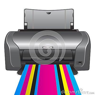 Printer. chromatic printing