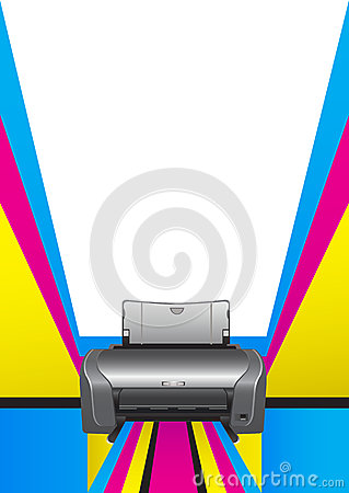 Printer. chromatic printing