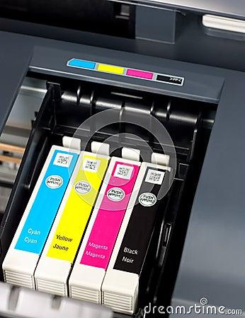 Free Printer Ink Stock Photo - 18576020