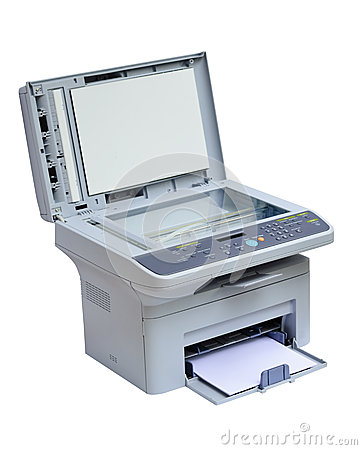 Printer and scanner isolated
