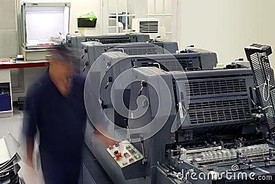 Printhouse pressroom