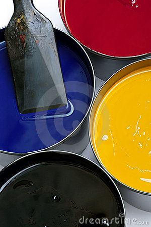 Free Printing Inks Stock Photography - 2880162