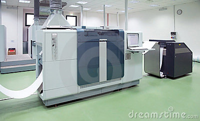 Printing machine: digital press