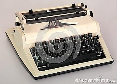 Printing typewriter.