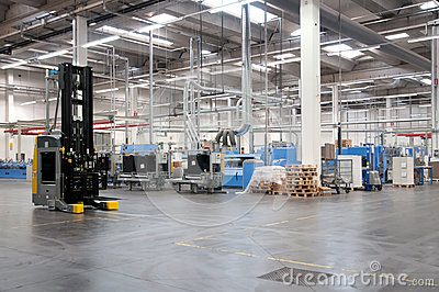 Printshop: Automated warehouse (paper)