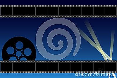 Priorità bassa di film