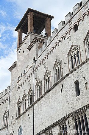 Priors Palace. Perugia. Umbria.