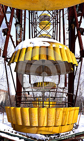 Free Pripyat Ferris Wheel Royalty Free Stock Photo - 38388815