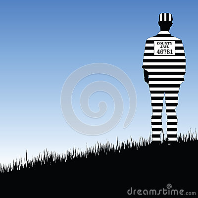 Free Prisioner County Jail Illustration In Nature Royalty Free Stock Photo - 65738865