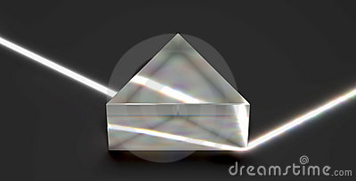 Prism reflecting optical light beam