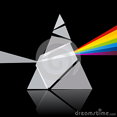 Prism Spectrum Illustration