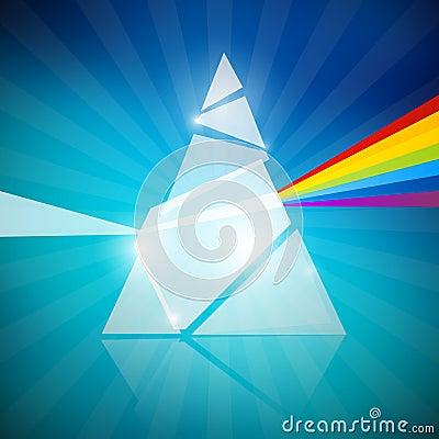 Prism Spectrum Illustration