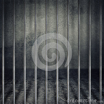 Free Prison Cell Royalty Free Stock Photo - 26066205