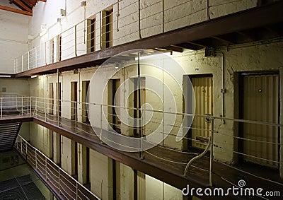 Prison cell block