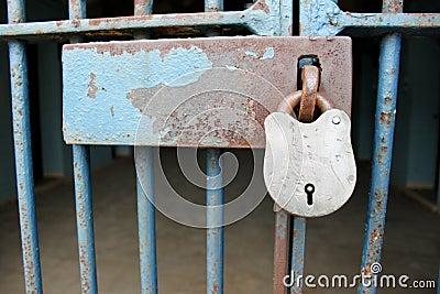 Prison Cell Padlock