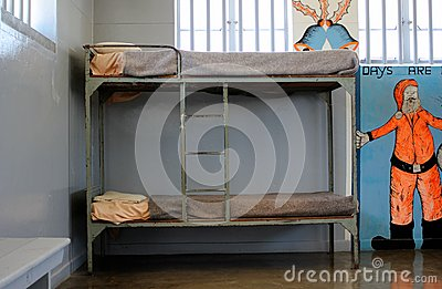Prison Cell of Robben Island Prison