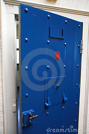 Free Prison Door Stock Image - 6892911