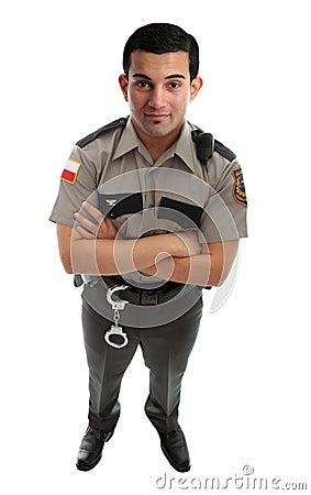 Prison Guard Warden or Policeman