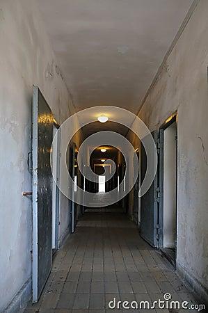 Prison interior Editorial Image