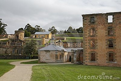 Prison Port Arthur, Tasmania, Australia Editorial Stock Photo