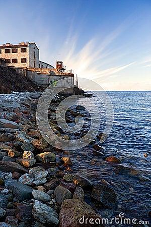 Prison by the sea