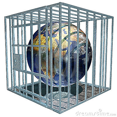 Free Prisoned Earth Royalty Free Stock Photo - 203125