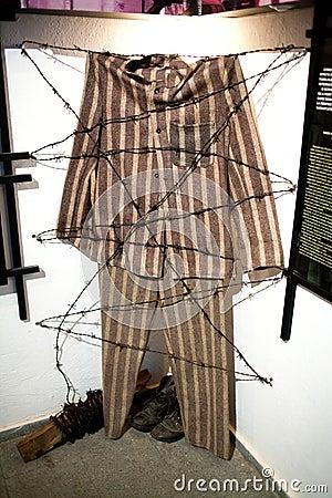 Prisoner uniform Editorial Image