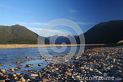 A pristine river in New Zealand