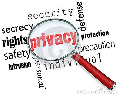 Id Theft Protection >> Privacy Word Magnifying Glass Online Security Identity Theft Stock Image - Image: 31479051