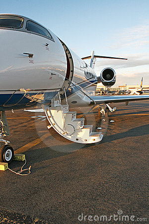 Private business jet