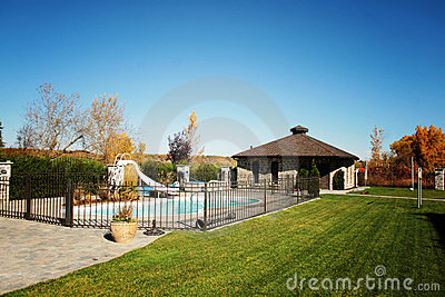 Private Fenced Pool