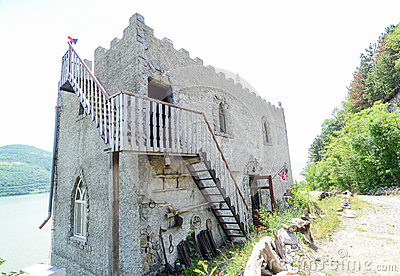 Private house with citadel style