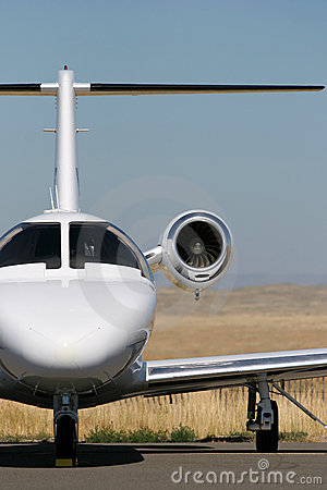 Free Private Jet Royalty Free Stock Photo - 219895