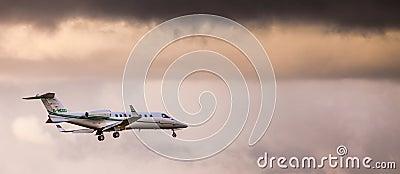 Private Jet Plane Editorial Photo