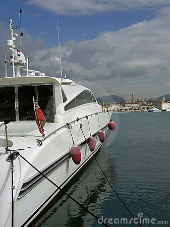 Private luxury yacht