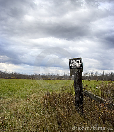 Free Private Property Stock Image - 7109801