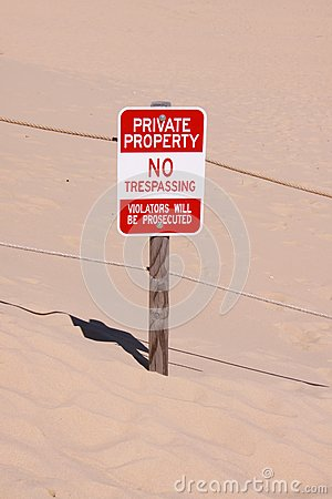 Private property board