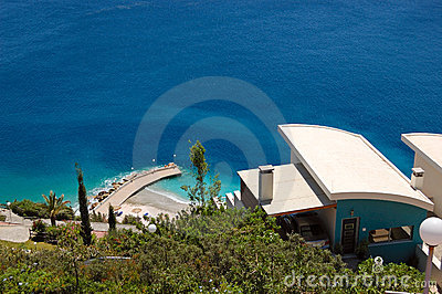 Private residence villa with Aegean Sea view