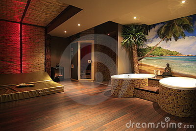 Private spa room